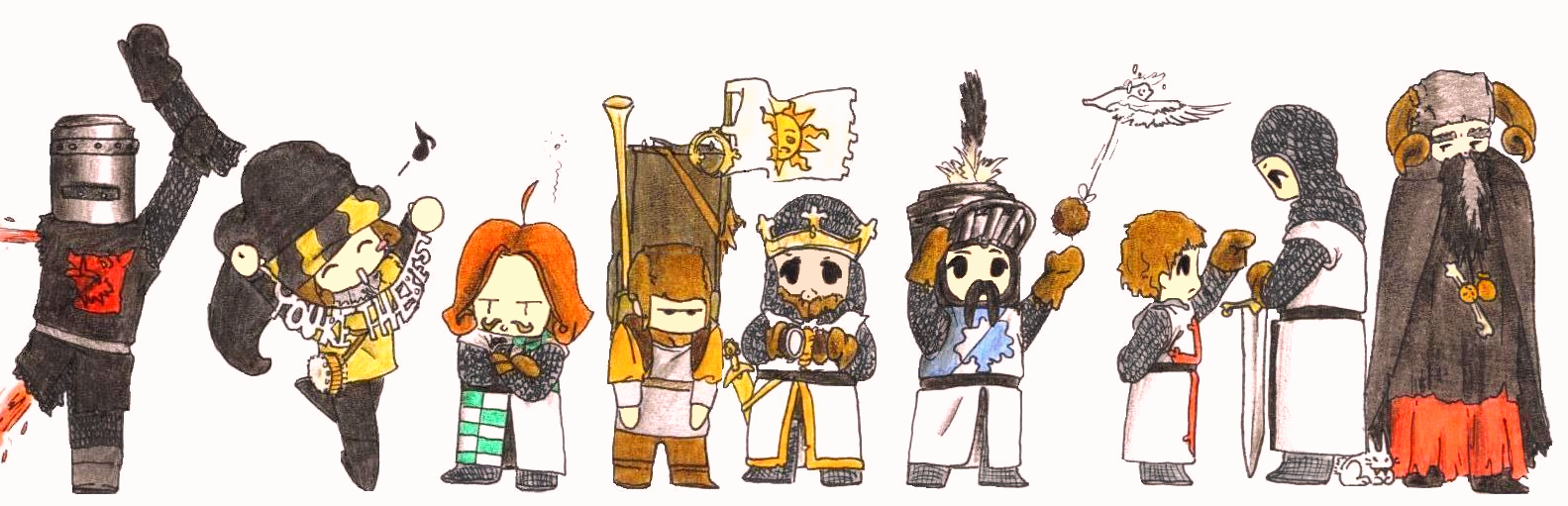 MONTY PYTHON and da HOLY GRAIL by Flying-Circus on DeviantArt