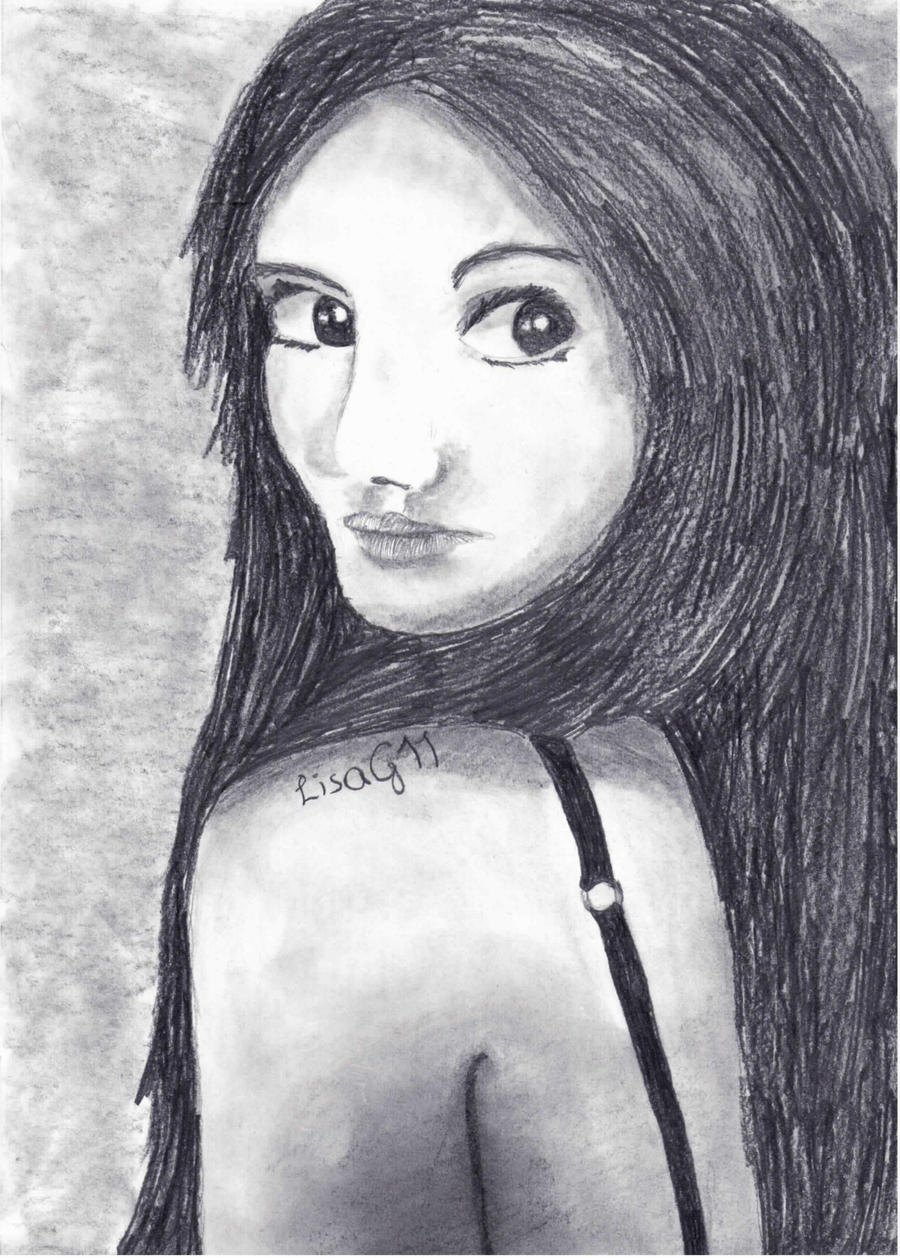 how to draw ariana grande