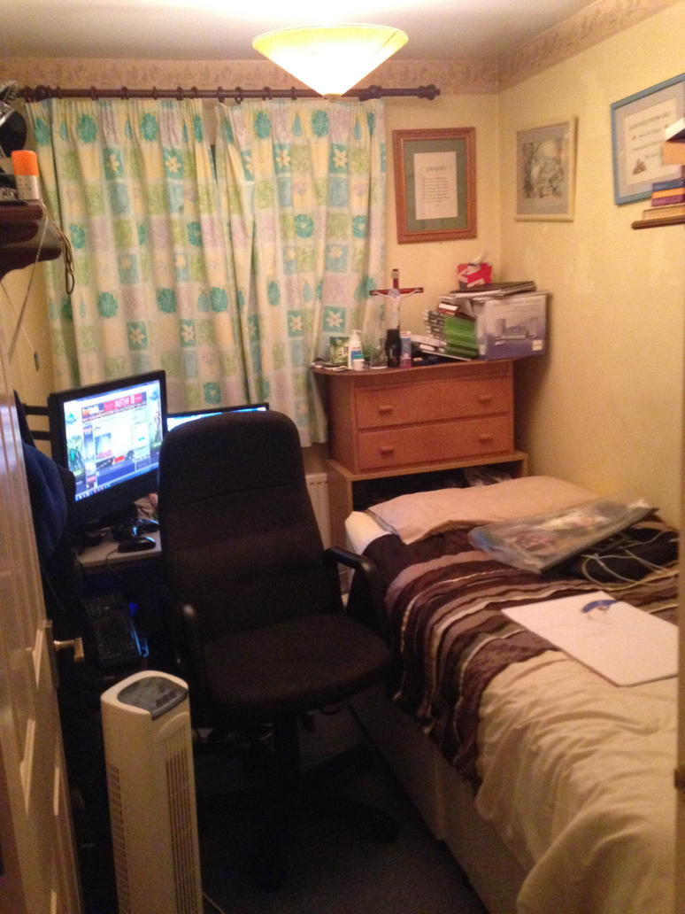 My BedroomWork Area xD by Greg1195 on