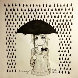 Inktober no.1 - Rainy Day