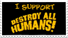 Destroy All Humans Stamp