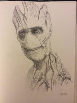Daily Sketch - Groot