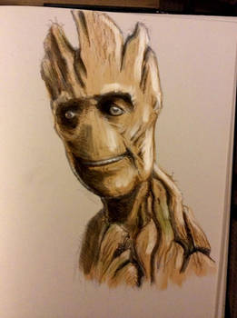 Daily Sketch - Groot Colour