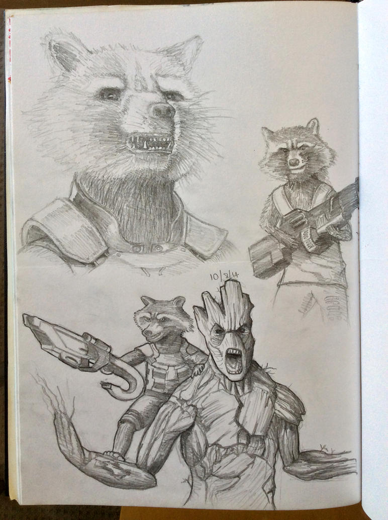 Daily Sketch - Rocket by Snazz84