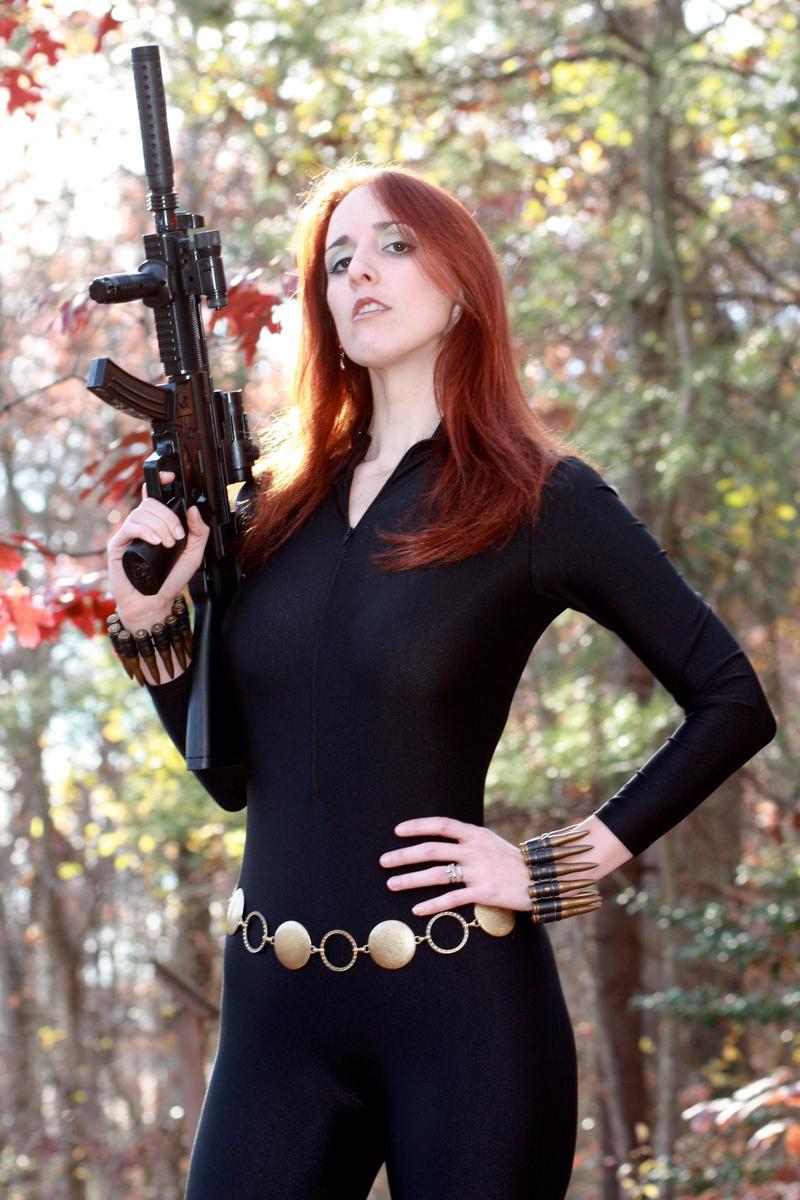 Black Widow by cosplaynut