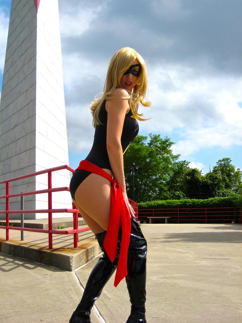 My favorite Marvel Heroine:  Ms. Marvel by cosplaynut
