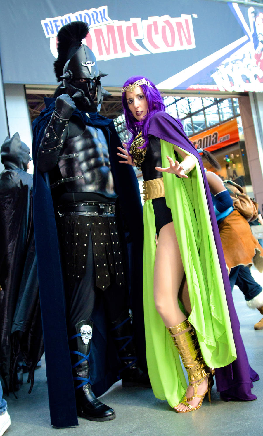 Ares And Circe Head To Toe At Nycc 2013 By Cosplaynut On