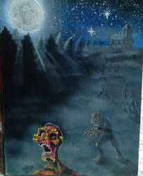 Night of the living dead colored