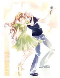 commission: Superstar by mokuren