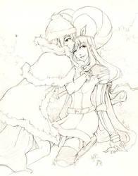 RO sketch: Dream and Janier by mokuren