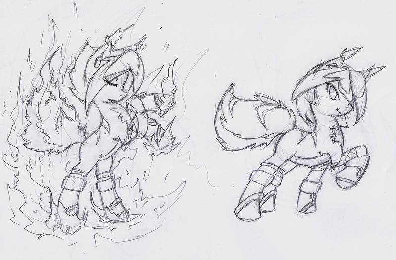 :Com: Flare Pony by Fly-Sky-High