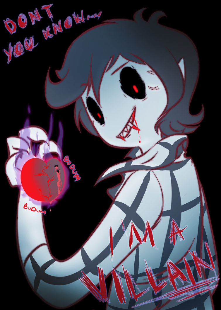 Don't you know I'm a villain by Fly-Sky-High