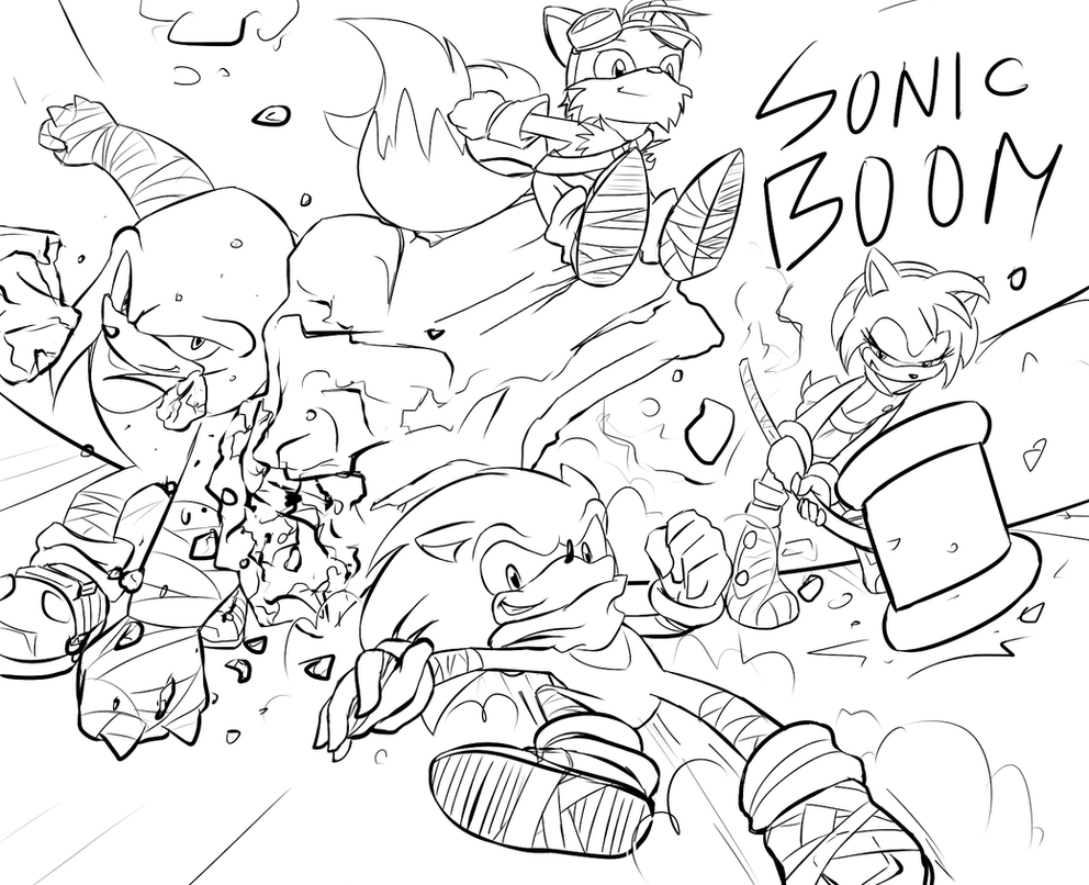 have a sonic boom fanart by fly sky high on deviantart