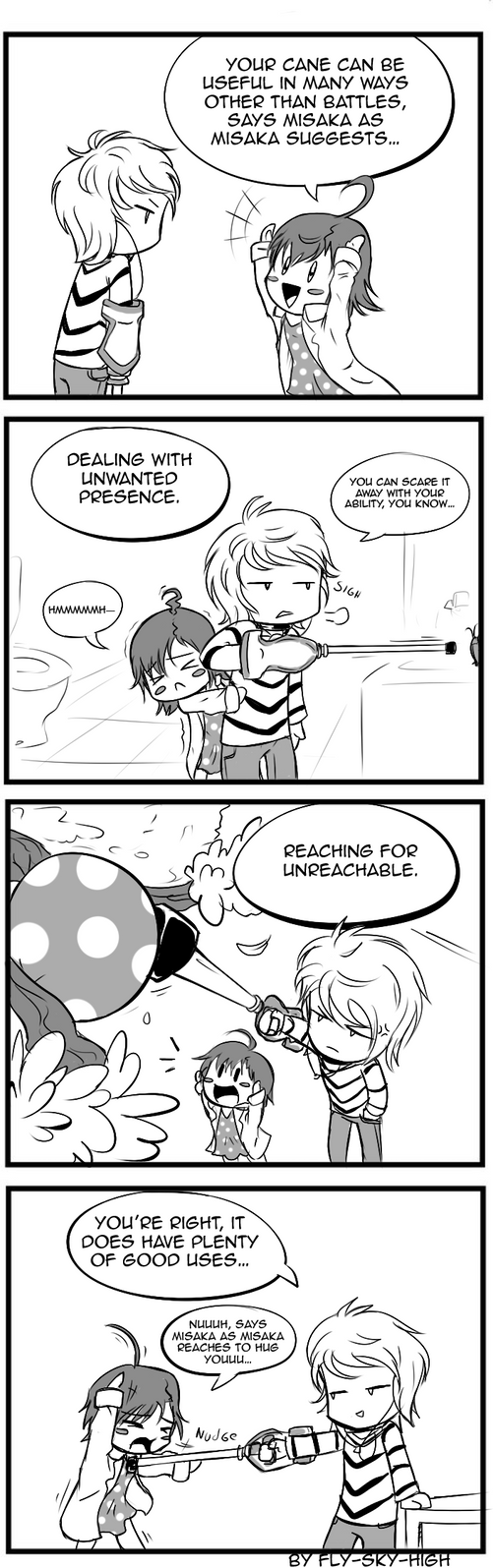 TAMNI 4koma: Acelerator and Last Order by Fly-Sky-High