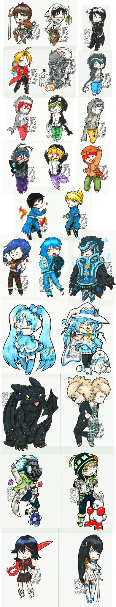 Chibi Chibicon 2015 compilation by Fly-Sky-High