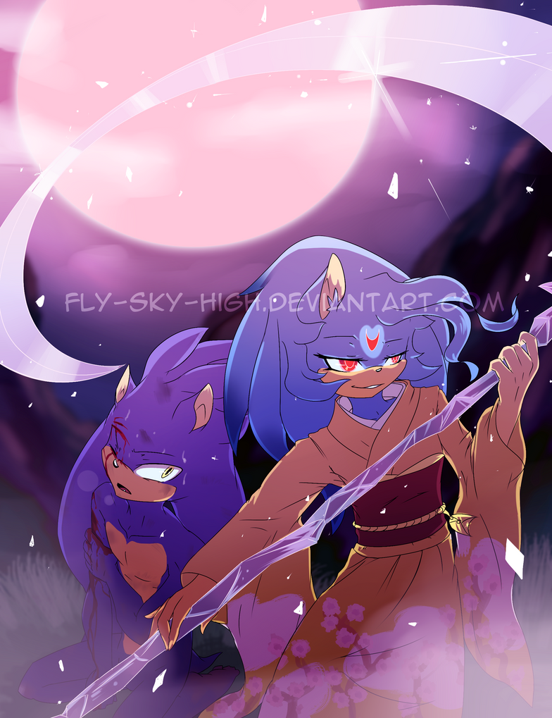 Under Moons protection by Fly-Sky-High