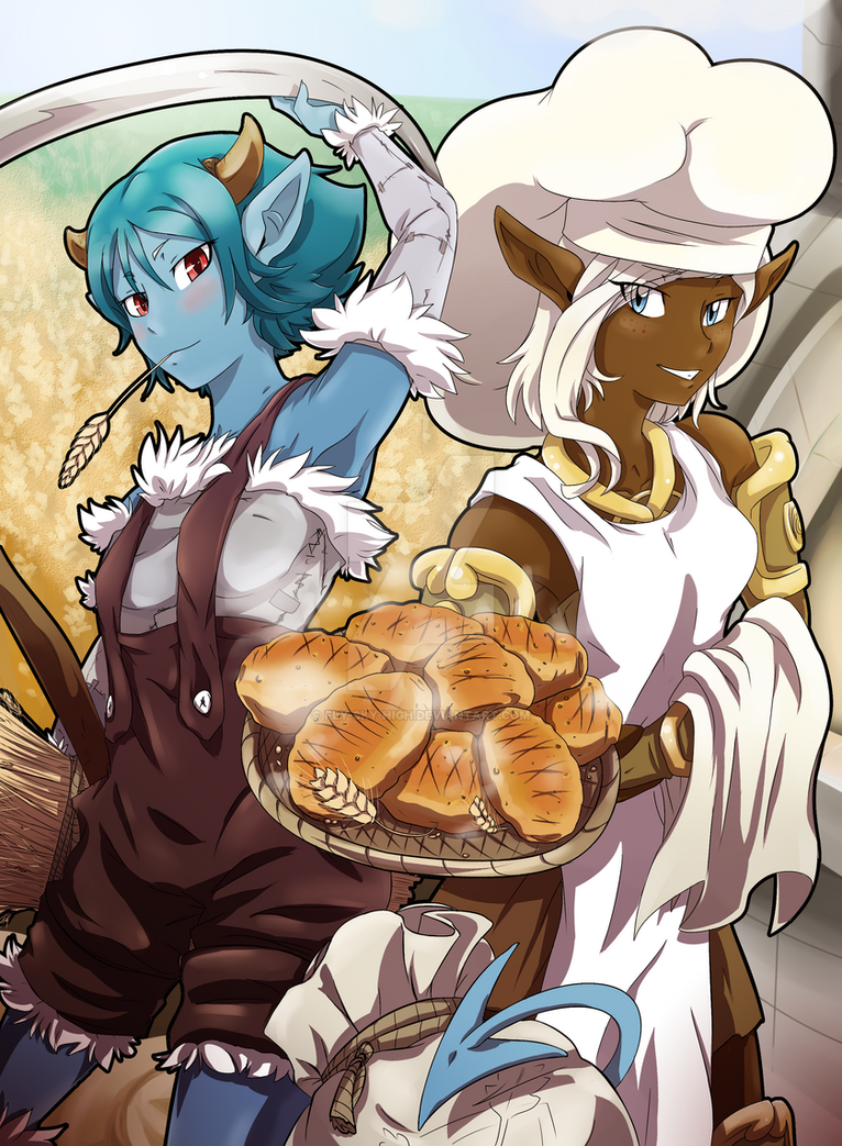 Wakfu: Girls of Professions by Fly-Sky-High