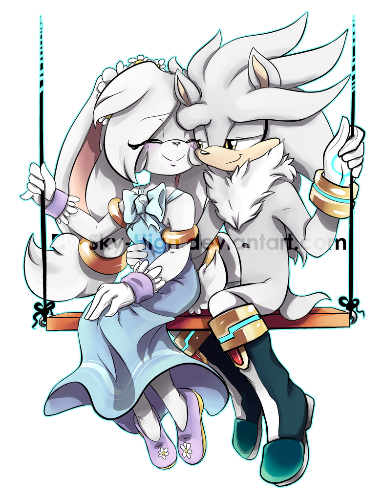 Comm: Silver Couple by Fly-Sky-High