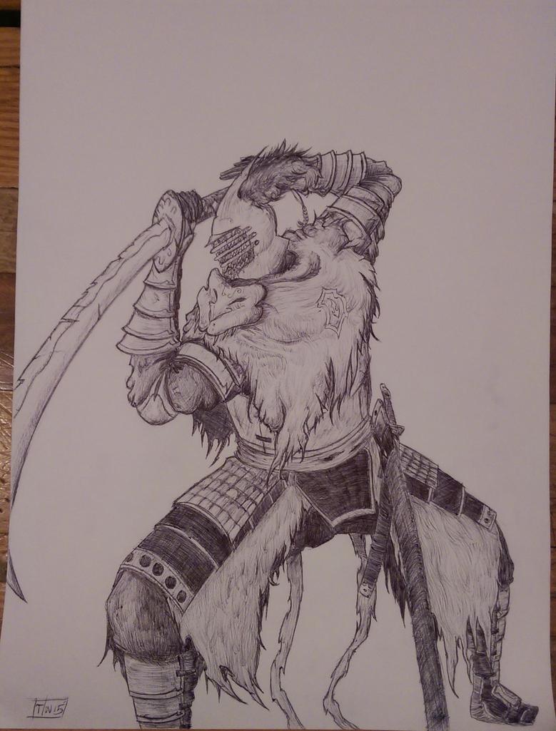 Samurai Knight by Demsauce