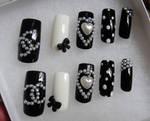 CC style 3d nails set