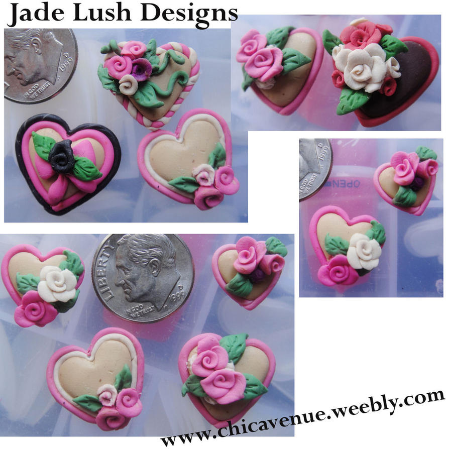 CUTE 3D CLAY FOR NAILS by jadelushdesigns