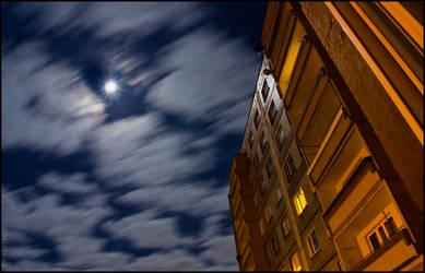 Night with blocks by Dexterxx