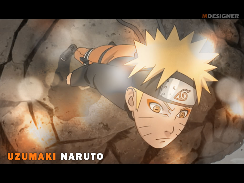 Serious Naruto wallpaper by EM3DI
