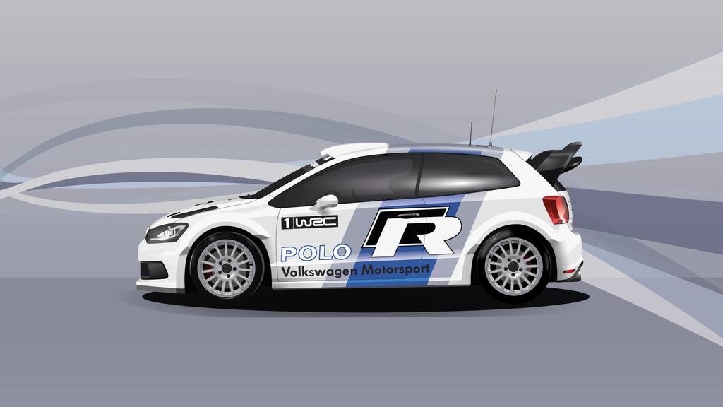 Polo WRC 2011 (Vector Art) Wallpaper by EM3DI
