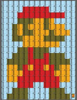 NES cartridge test Mario