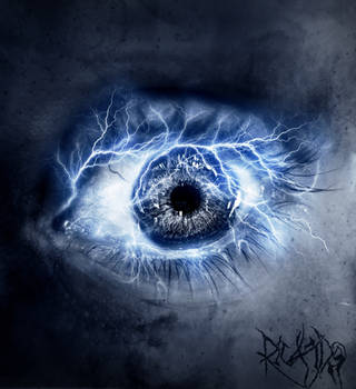 Eye Elements: Lightning by tvlookplay