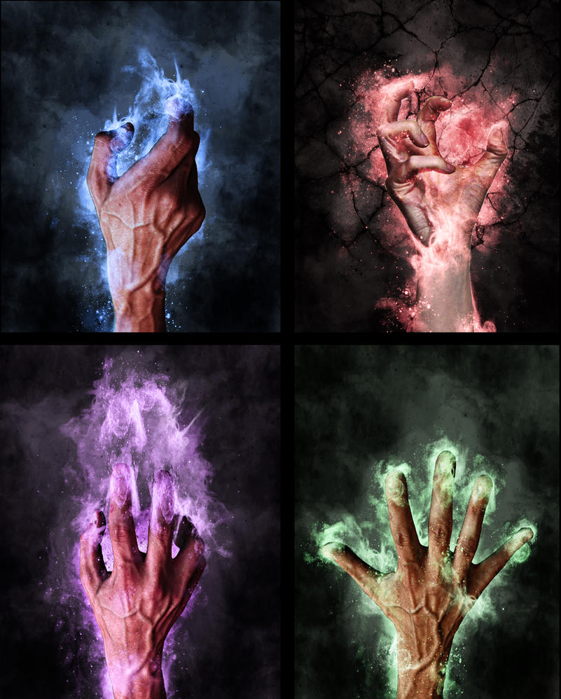 4 Mage Hands by tvlookplay