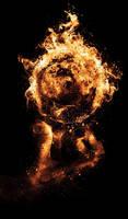 Hand element: Fireball