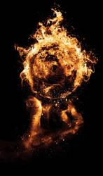 Hand element: Fireball by tvlookplay
