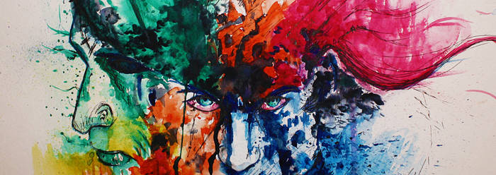 Face and colors...