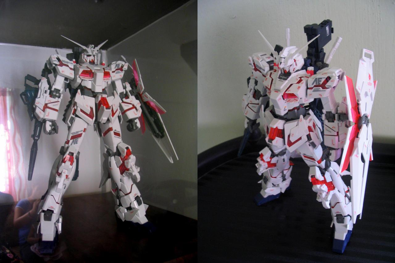 unicorn gundam by MobileSuitGio
