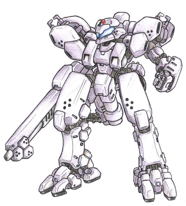 M-22A Cerberus Assault Mecha by MobileSuitGio