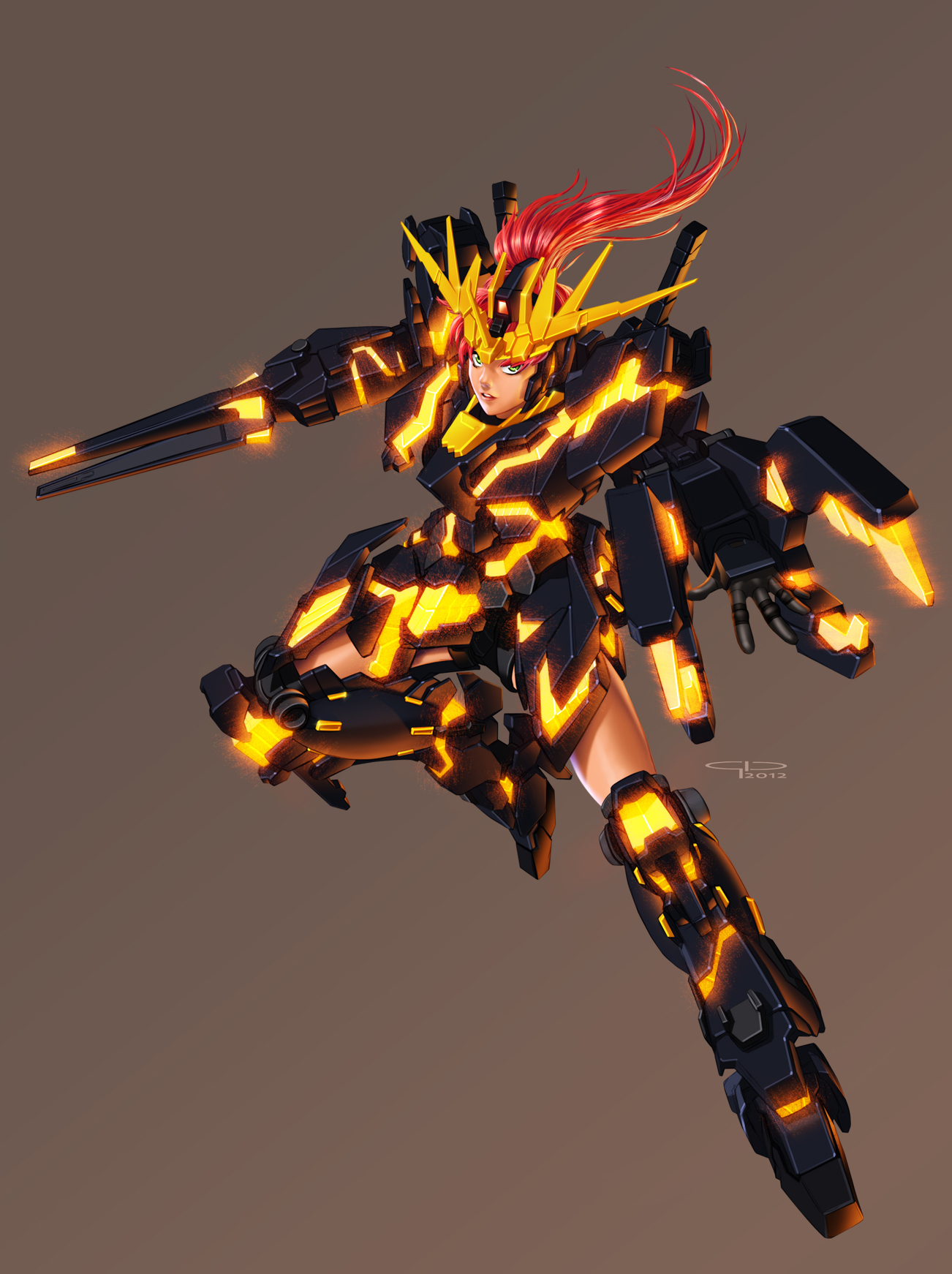Banshee Girl by MobileSuitGio on DeviantArt