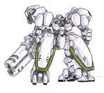 M-18G Juggernaut Assault Mecha