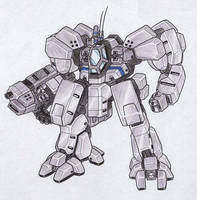 M-14 Marduc Assault Mecha by MobileSuitGio