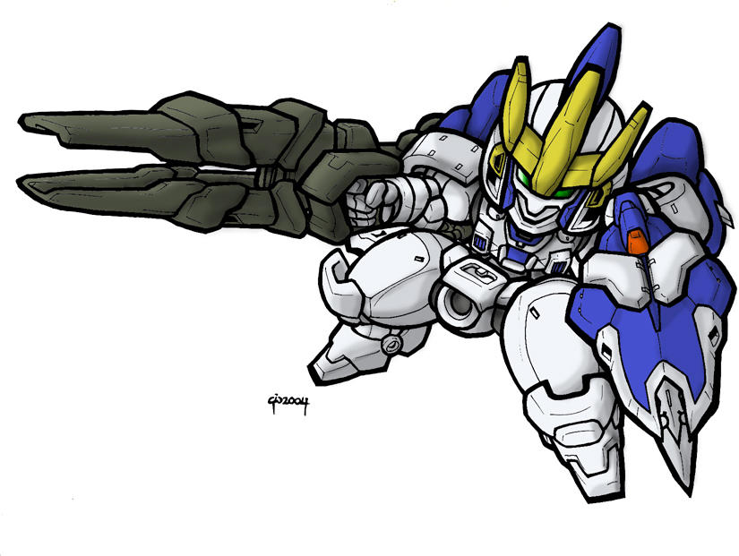 SD Tallgeese III by MobileSuitGio