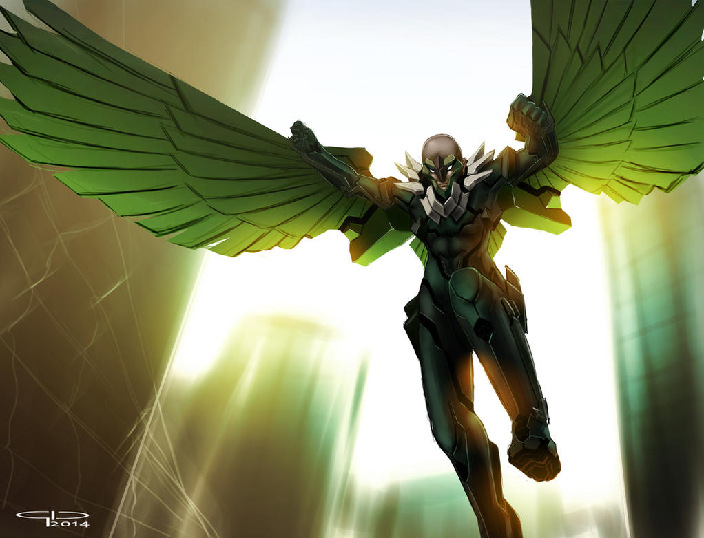 Vulture by MobileSuitGio