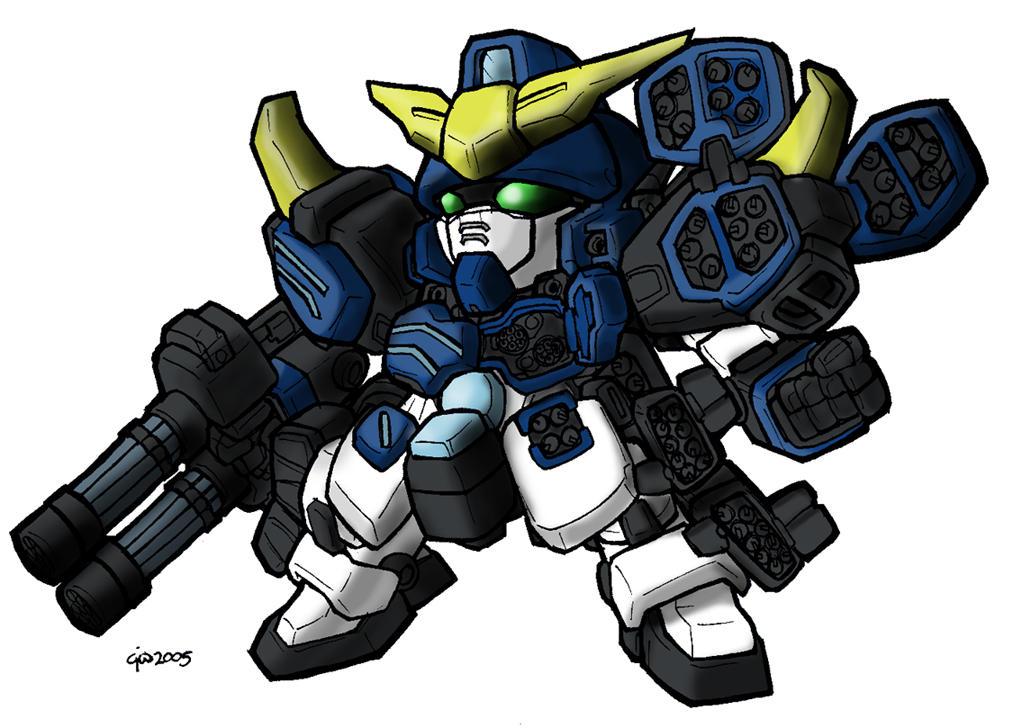 SD Heavyarms Custom by MobileSuitGio