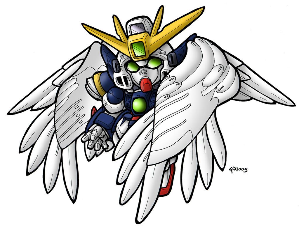 SD Wing Zero Custom by MobileSuitGio