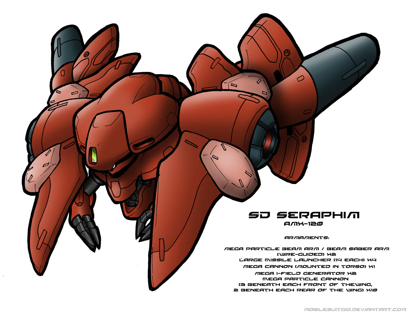 SD Seraphim by MobileSuitGio