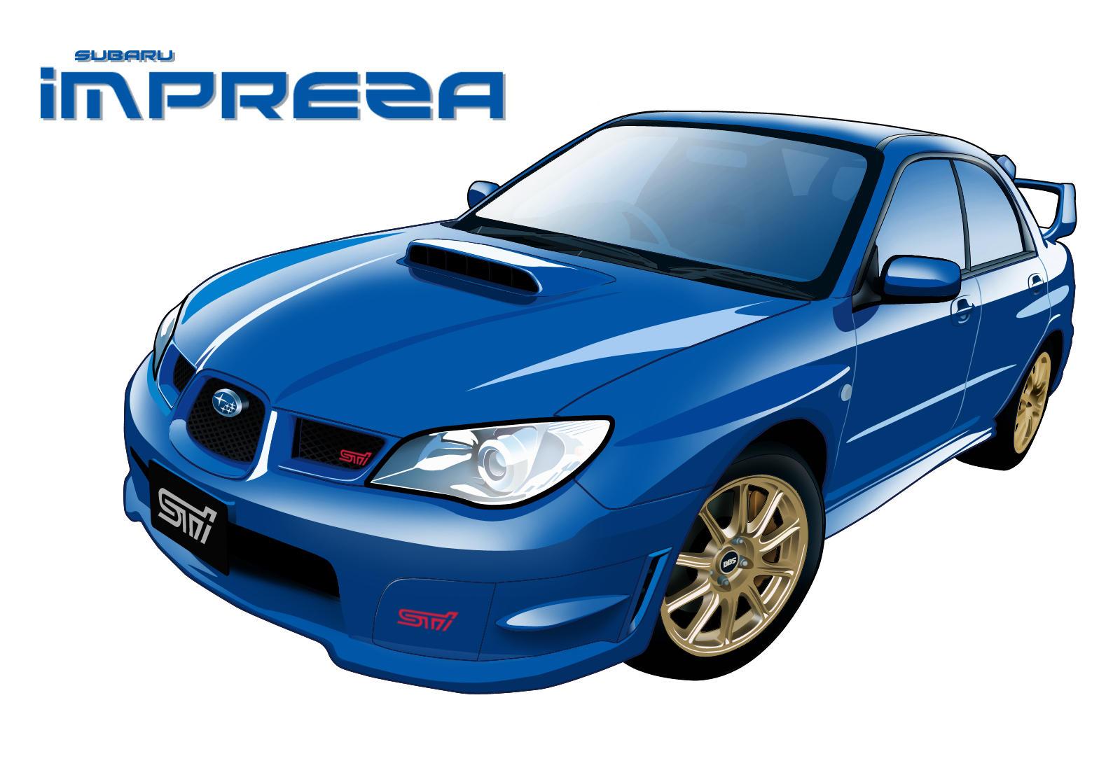 Subaru Impreza WRX STi by MobileSuitGio