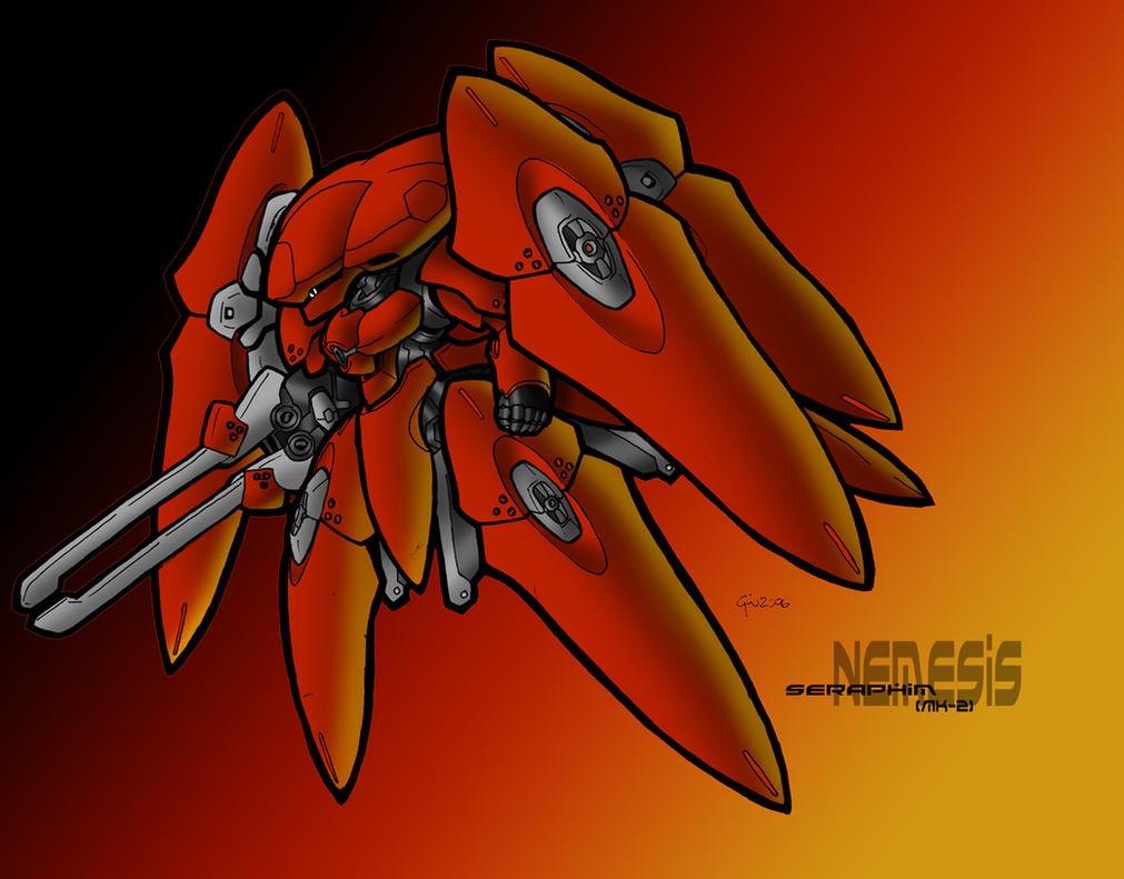 Nemesis-Seraphim MkII by MobileSuitGio