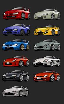 Chibi Cars