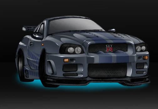 Almost2F2F-Nissan Skyline GT-R