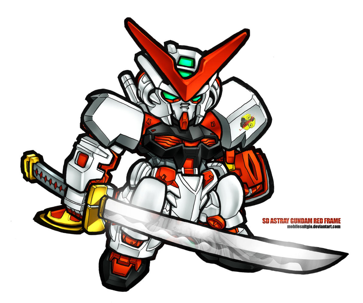 SD Astray Red Frame by MobileSuitGio on DeviantArt