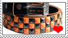 Studded belt stamp by SamColwell